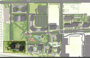 Concord Park Place Site Map